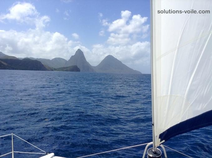 croisiere en catamaran- Ste Lucie