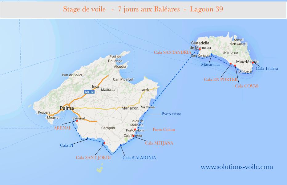 parcours baléares