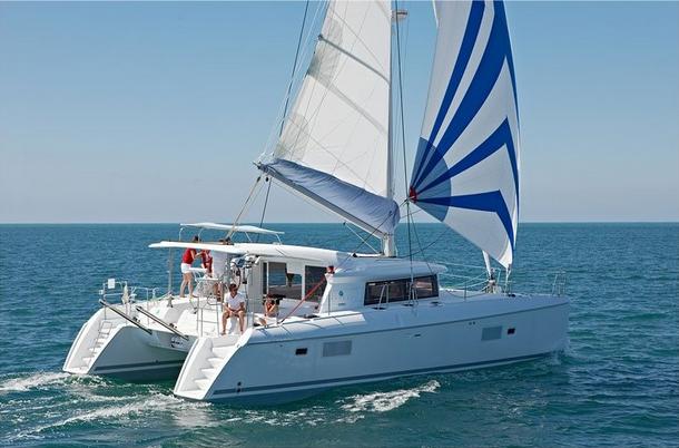 Croisiere catamaran en Lagoon 421