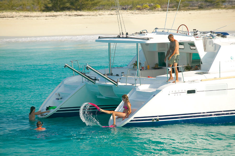 croisière catamaran lagoon 440