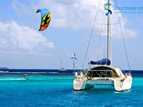 Kite aux Tobago cays