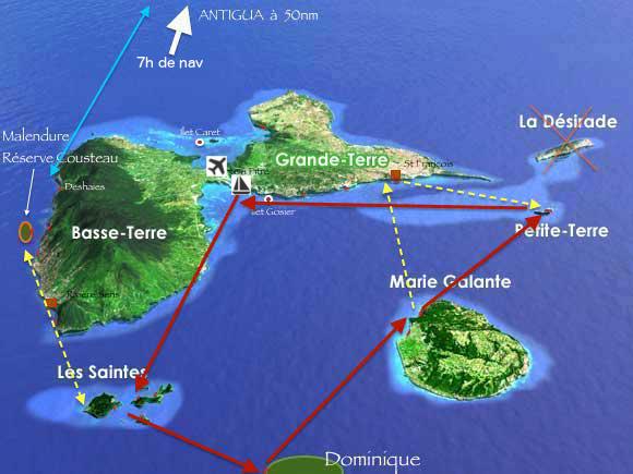 stage de voile en Guadeloupe