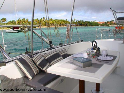 Location Lagoon 380 Guadeloupe