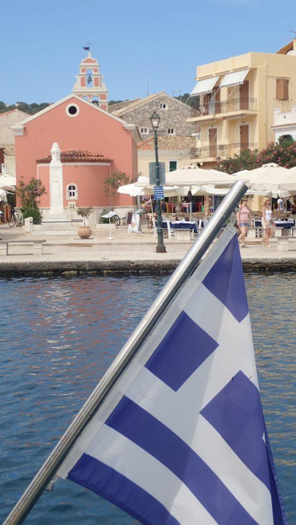 Stage de voile en grece